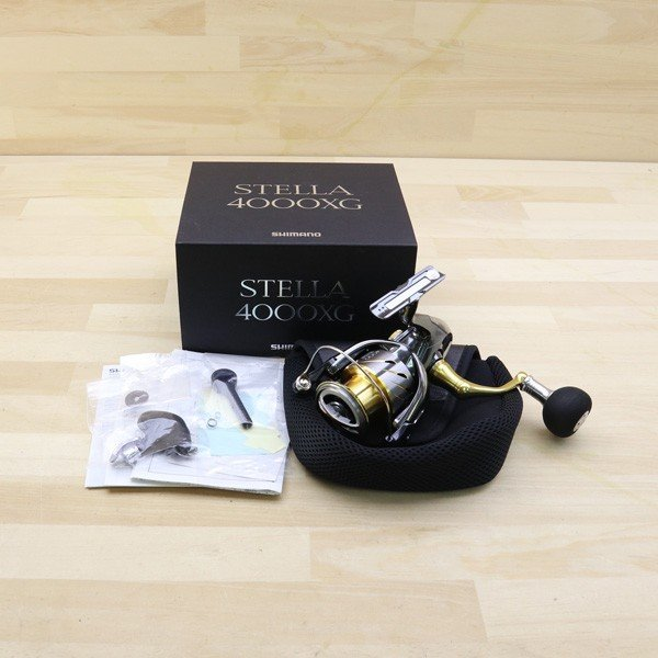 シマノ  14ステラ 4000XG 夢屋ラウンドEVAノブ付き/B468M 極上美品 SHIMANO 釣り スピニングリール ジギング キャスティング ショア オフショア 青物 ソルト|tsuriking|10