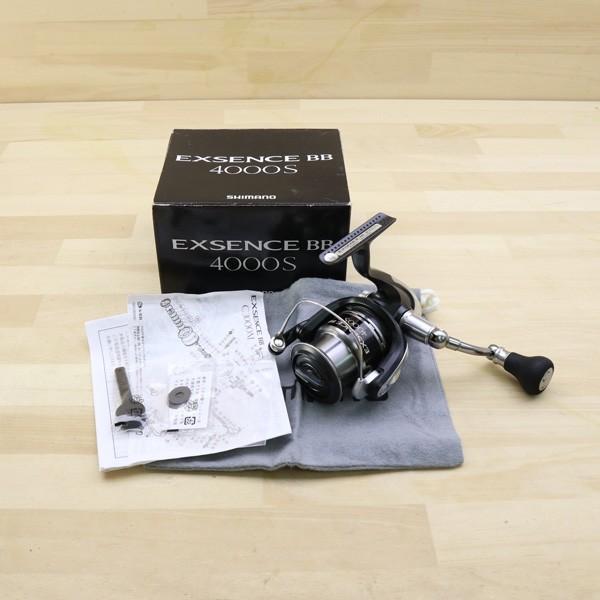シマノ  11エクスセンスBB 4000S/B470M 美品 SHIMANO 釣り スピニングリール ジギング キャスティング ショア オフショア 青物 ソルト|tsuriking|10