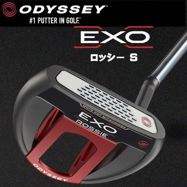 オデッセイ EXO エクソ− ロッシーS ショートスラント パター ODESSEY EXO ROSSIE S
