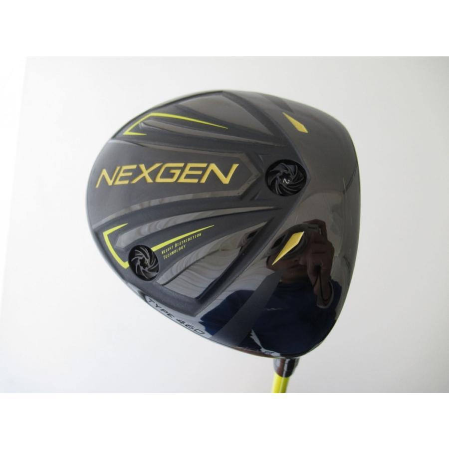 中古 ゴルフパートナー NEXGEN6 ネクスジェン6 BLACK LIMITED ドライバー オリジナルカーボン 10.5度 フレックスなし