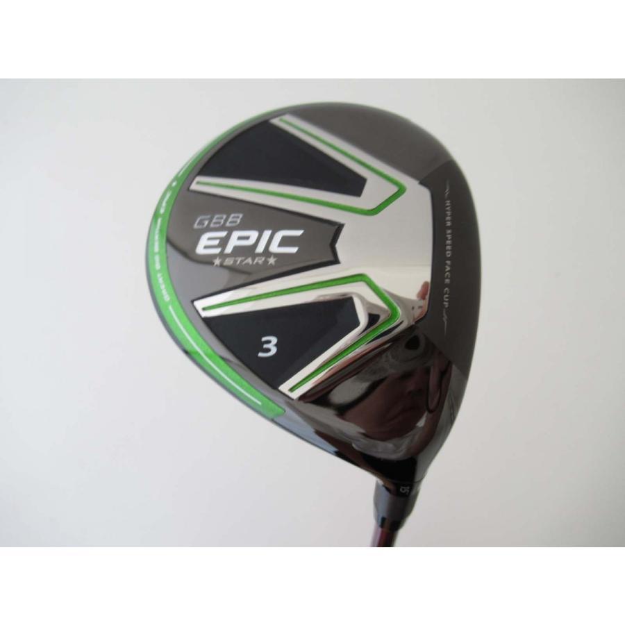 中古 メーカー特注品 キャロウェイ EPIC STAR フェアウェイウッド スピーダーエボリューション3 474 3W フレックスR