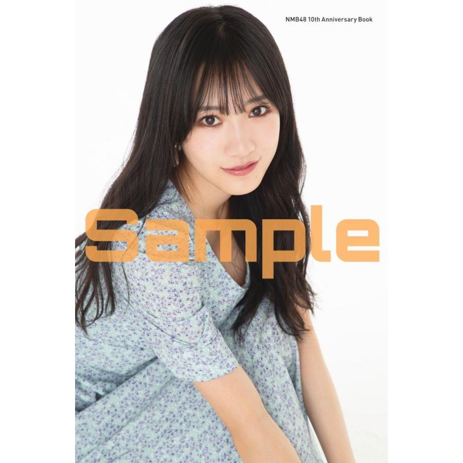 【戎橋限定特典つき】NMB48 10th Anniversary Book(仮)|tsutaya-ebisubashi-n|04