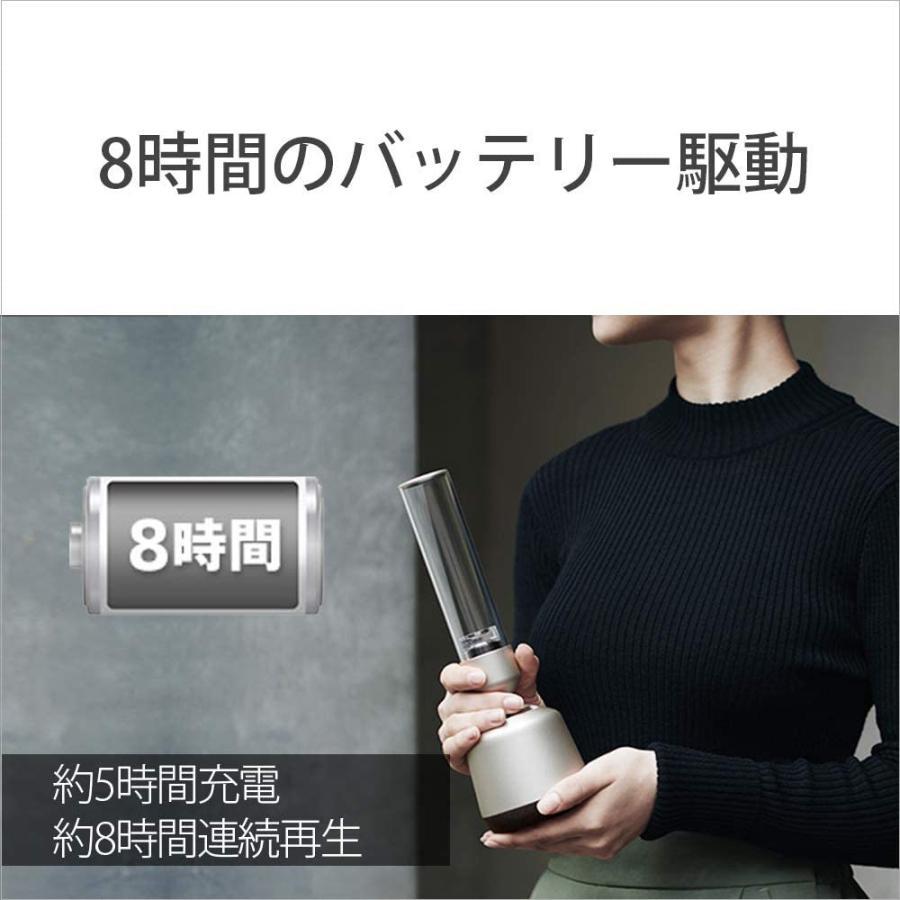 ソニー グラスサウンドスピーカー ハイレゾ対応/Bluetooth対応/LEDライト付き / 32段階明るさ調整可能 DSEE HX対応 L tt0923-store 09