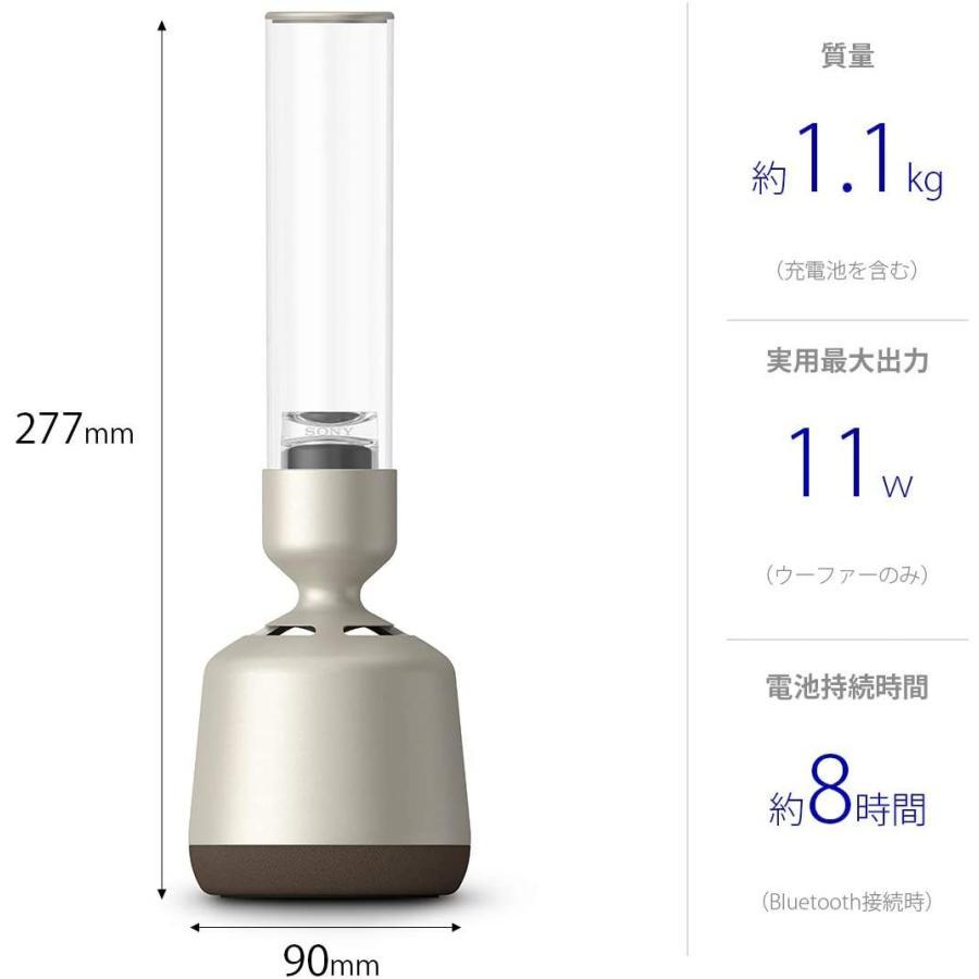 ソニー グラスサウンドスピーカー ハイレゾ対応/Bluetooth対応/LEDライト付き / 32段階明るさ調整可能 DSEE HX対応 L tt0923-store 10