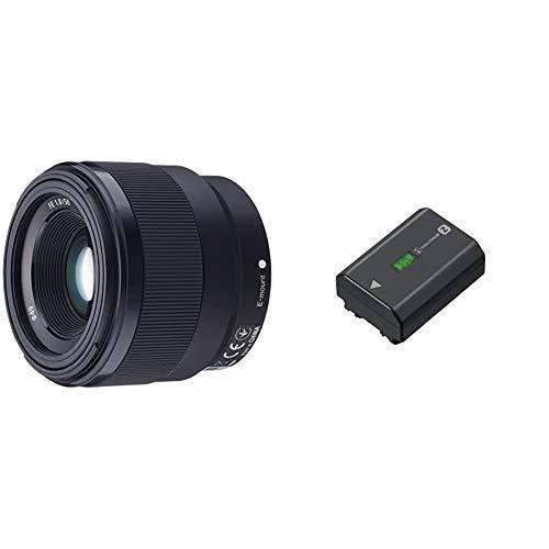 セット買いソニー デジタル一眼カメラαEマウント用レンズ SEL50F18F (FE 50mm F1.8) & リチャージャブルバッテリーパ