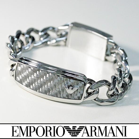 【爆買い!】 エンポリオアルマーニ ブレスレット メンズ EMPORIO ARMANI EGS1688040-19 新品 無料ラッピング可, コクブシ 413a2dd6