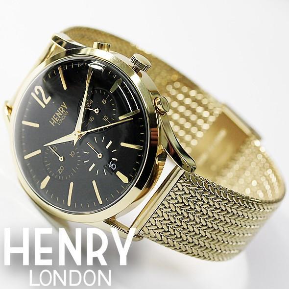 ヘンリーロンドン 腕時計 HENRY LONDON HL41-CM-0180 フェイス41mm ...