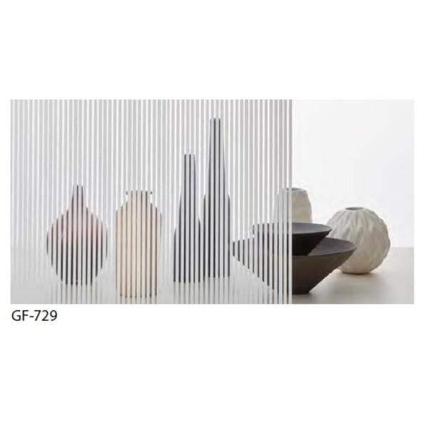 ストライプ 飛散防止 ガラスフィルム サンゲツ GF-729 92cm巾 10m巻 ストライプ 飛散防止 ガラスフィルム サンゲツ GF-729 92cm巾 10m巻