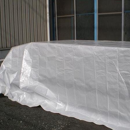 【代引き不可・同梱不可】萩原工業 遮熱シート スノーテックス・スーパークール 約2.7×3.6m 8枚入