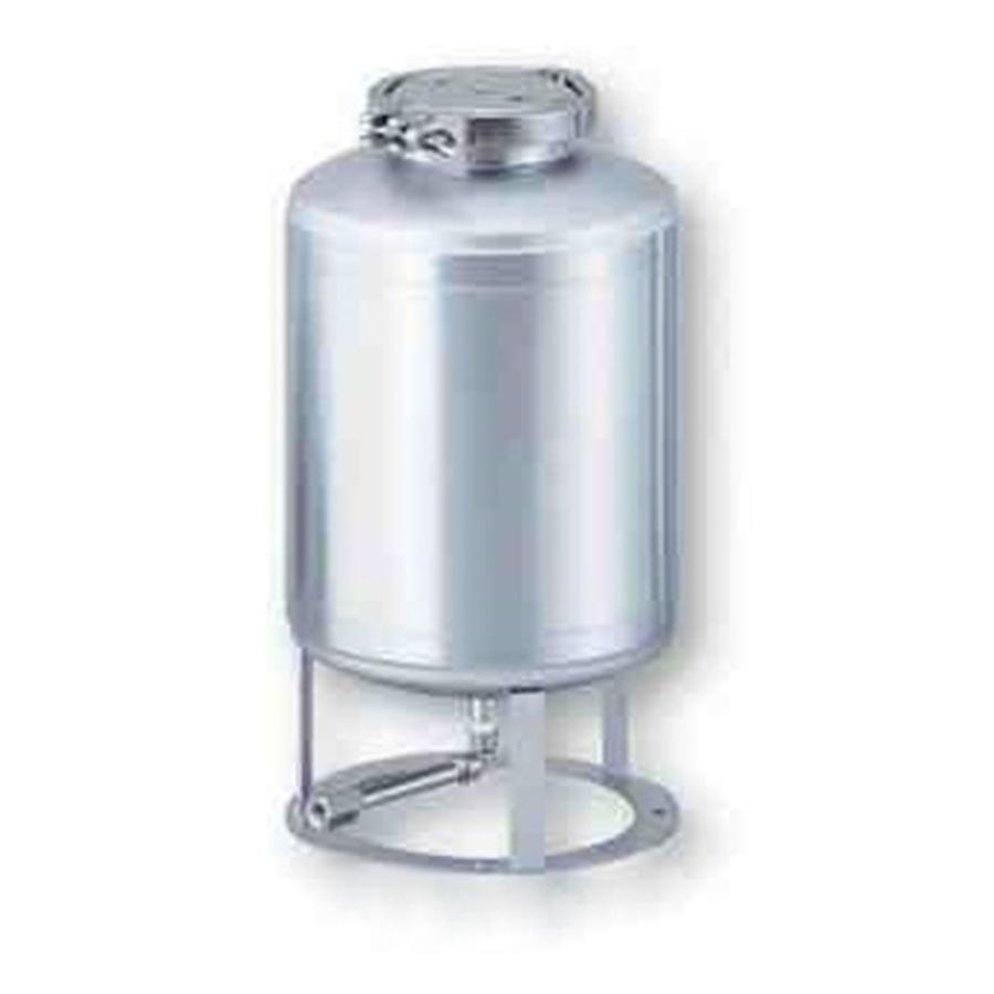 フェルールクランプ式ステンレス加圧容器 10L ユニコントロールズ aso 1-1917-02 医療・研究用機器