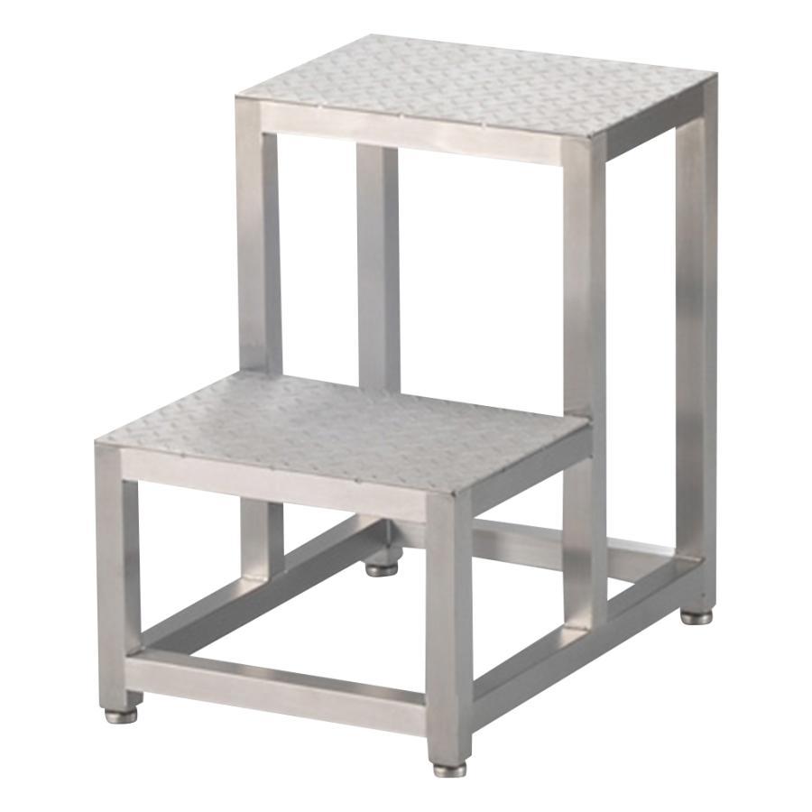 クリーンルーム用踏み台 2段式 アズワン aso 1-3262-03 医療・研究用機器