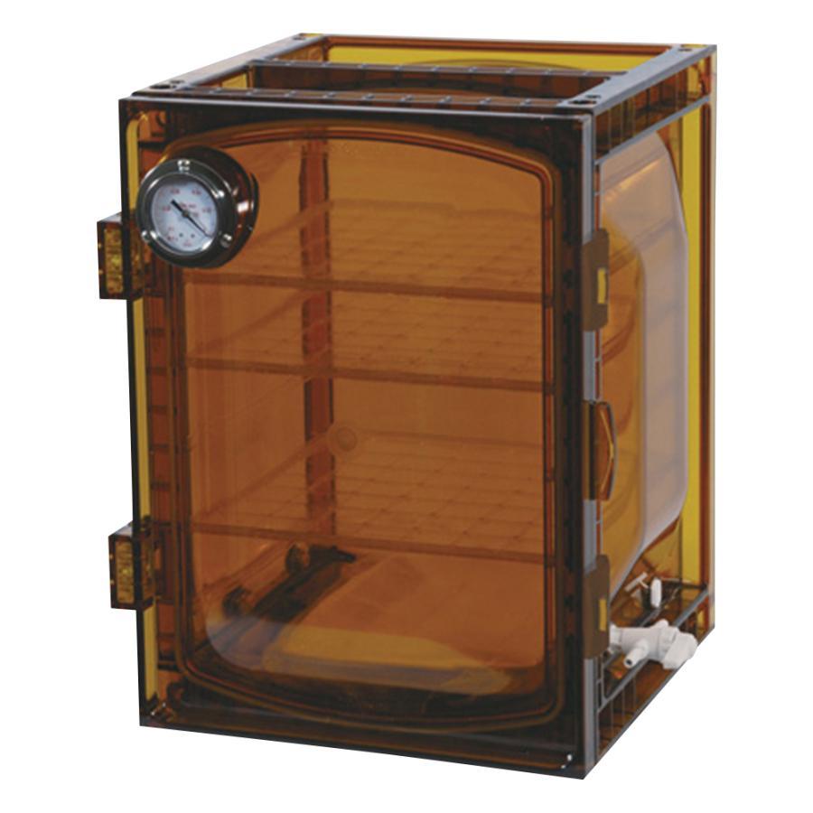 真空デシケーター(UVカットタイプ) 420×397×491mm アズワン aso 1-612-04 医療・研究用機器