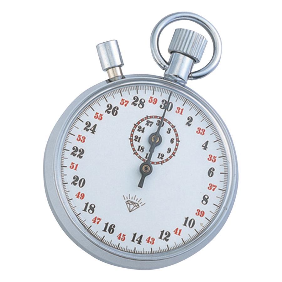 ストップウォッチ(手巻き式) 30分計 833 アズワン aso 1-7016-07 医療・研究用機器