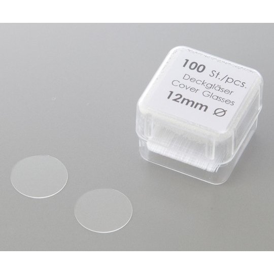 丸型カバーグラス No.0111520 φ12mm 100枚×10箱入 アズワン aso 1-878-01 医療・研究用機器