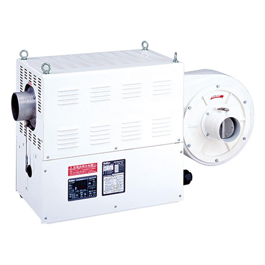 熱風機(デジタル電子温度制御室) 8.0/9.0(m3/min) 350℃ 3相200V SHD-15FIII スイデン aso 2-9991-16 医療