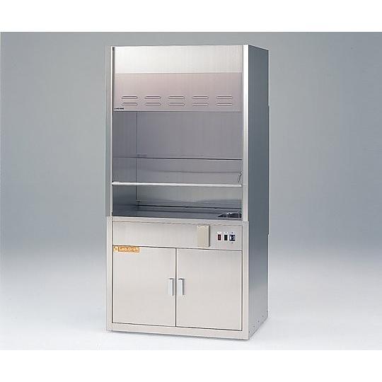 ラボドラフトS901 ファンなし 給排水なし 900×745/650×1850 aso 3-1370-04 医療・研究用機器