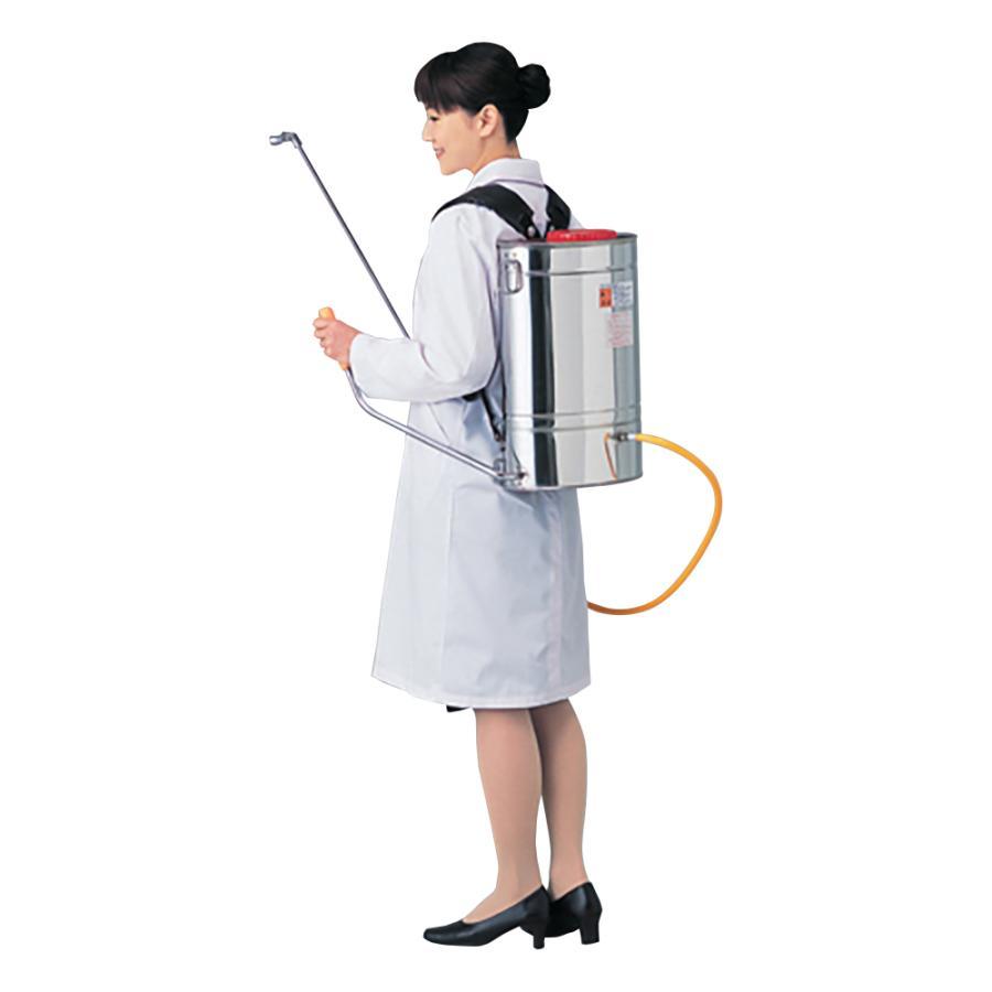 噴霧器 肩掛用(レバー式) 13L その他 aso 4-183-04 医療・研究用機器