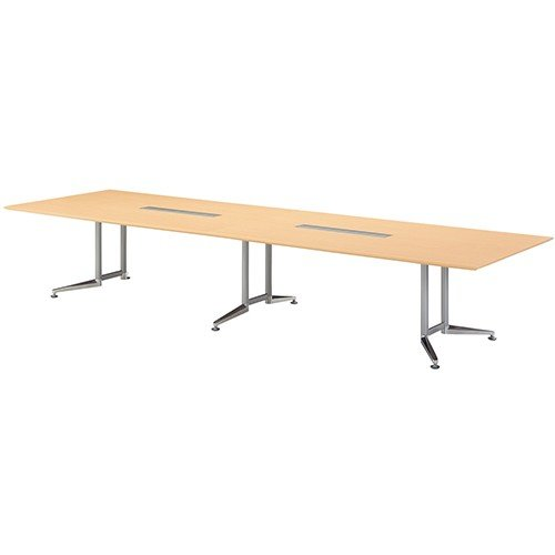 WX-J2 会議用大型テーブル WX-JR4800SHS WM (jtx32231) プラス