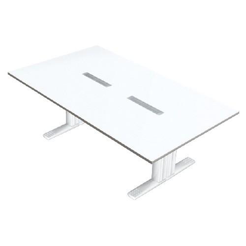 送料無料 XF TYPE-L 会議テーブル XL-2412KG W4/W4 (jtx 604204) プラス