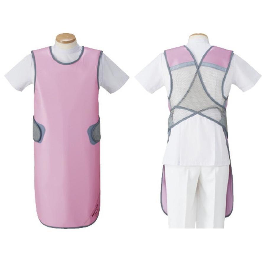 品質一番の 防護衣 シンプラークール 19-3440-04 1入り, 美健WOMAN cb5be3a5