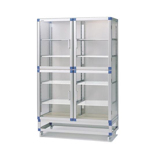 スタンダードデシケータージャンボ 1152×517×1765mm  強化プラスチック棚 アズワン aso 1-5209-13 医療・研究用機器