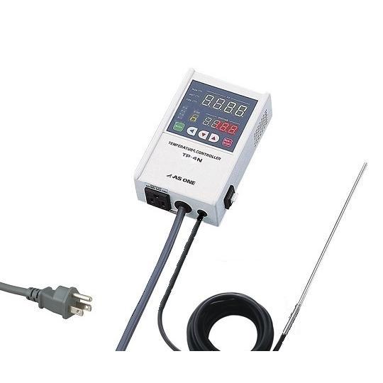 デジタル温度調節器(プログラム機能付) -199〜199℃ アズワン aso 1-5825-12 医療・研究用機器