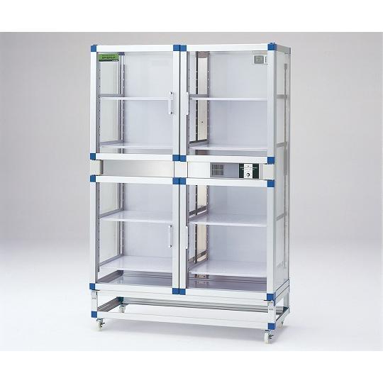 PETデシケーター 1152×524×1770mm 強化プラスチック棚板 アズワン aso 1-6003-12 医療・研究用機器
