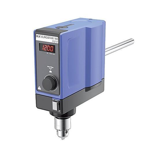 電子制御撹拌機 ユーロスター100デジタル IKA aso 1-7326-25 医療・研究用機器