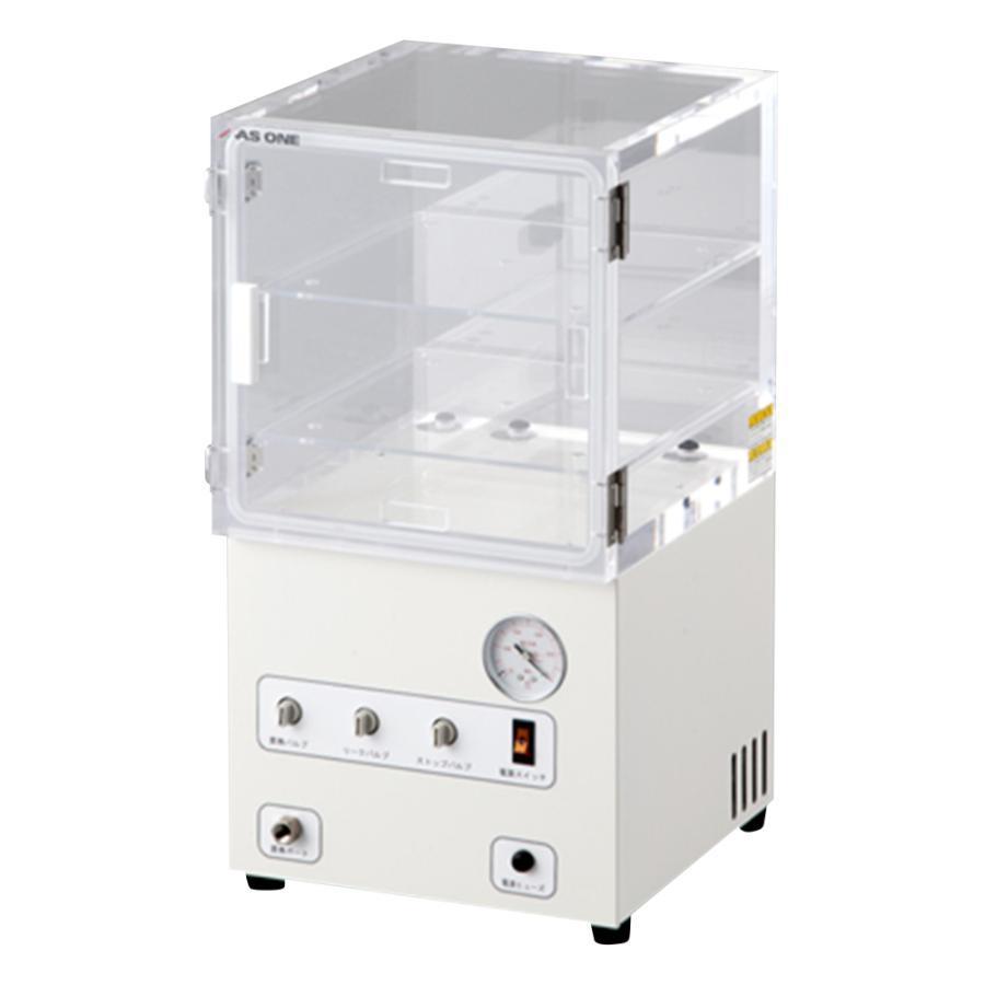 ポンプ内蔵真空デシケーター 300×322×570mm アズワン aso 1-7546-12 医療・研究用機器