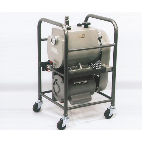 ベルト駆動式油回転真空ポンプ TSW-100N 60Hz 佐藤真空 aso 1-8785-04 医療・研究用機器