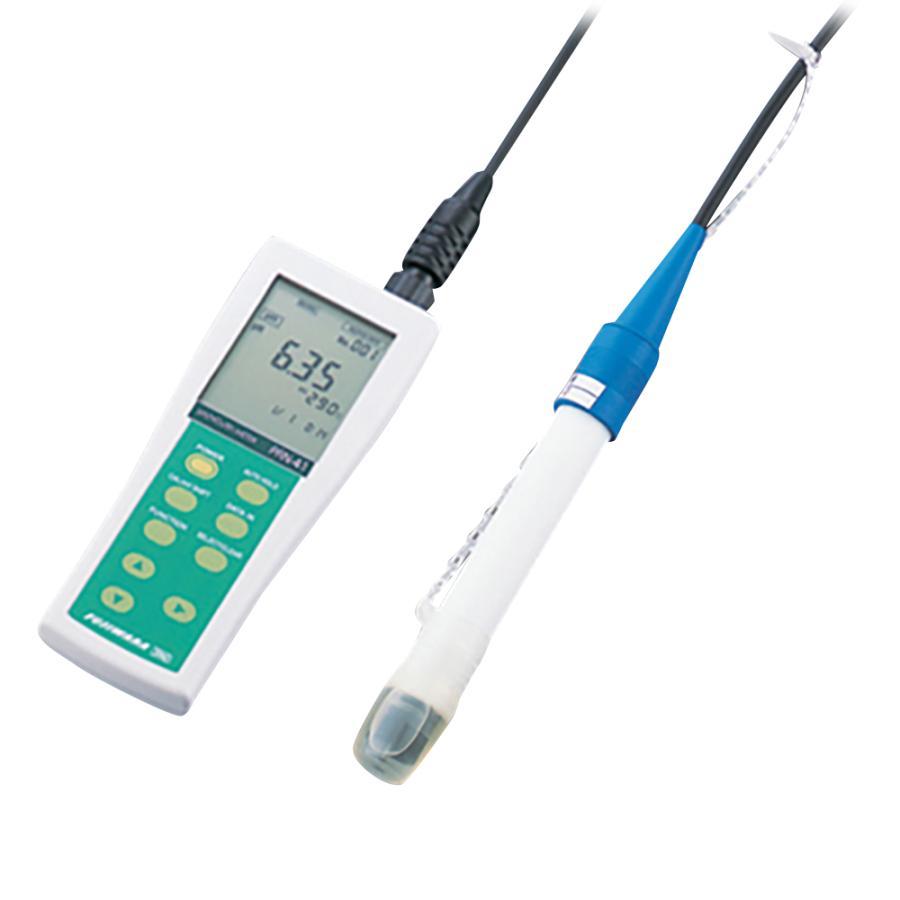 土壌pH計PRN−41+土硝酸電極セット その他 aso 1-9188-03 医療・研究用機器