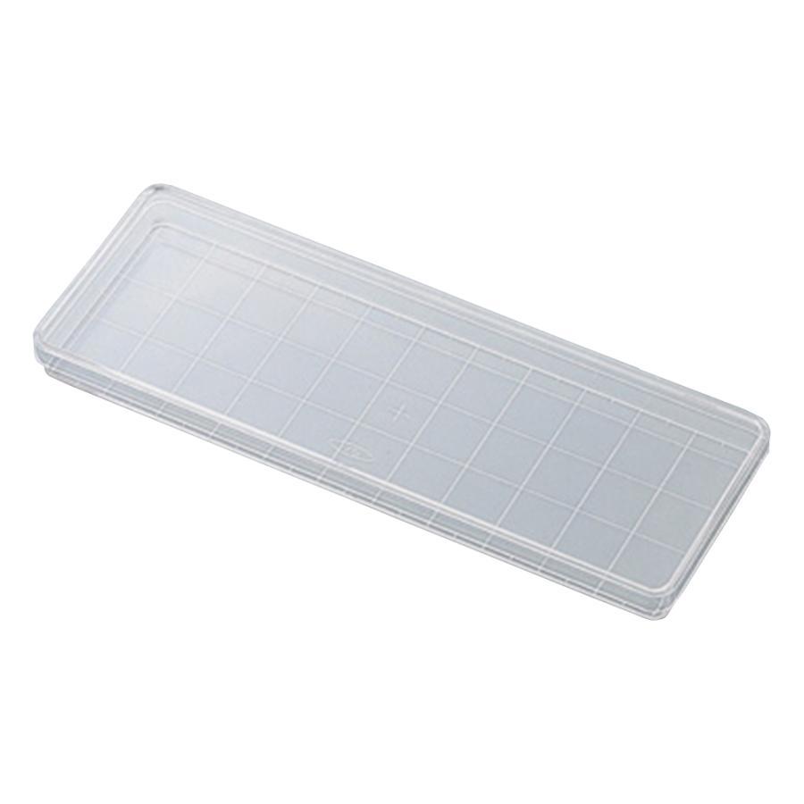 角型透明ディッシュ 235×85mm 10枚×10袋入 その他 aso 2-5316-01 医療・研究用機器