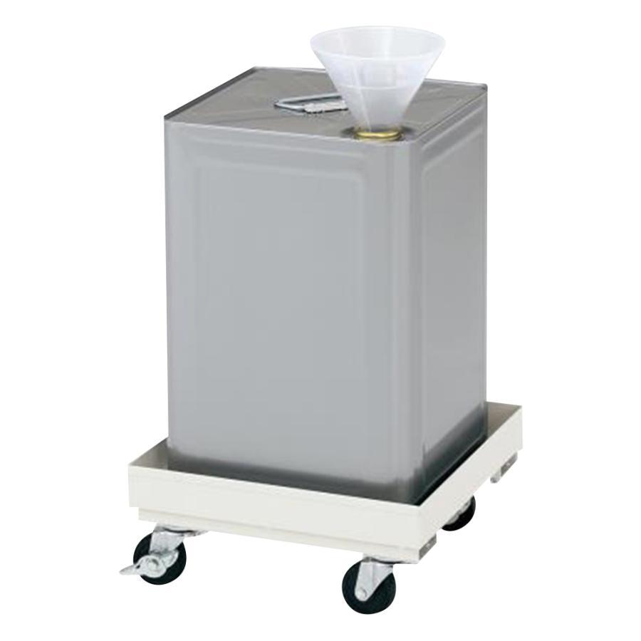 一斗缶保管キャリー 280×280mm アズワン aso 2-726-01 医療・研究用機器