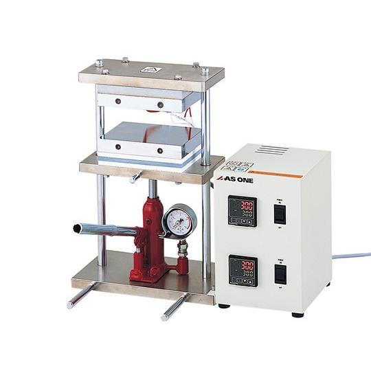 小型熱プレス機 0〜1t アズワン aso 2-7903-11 医療・研究用機器