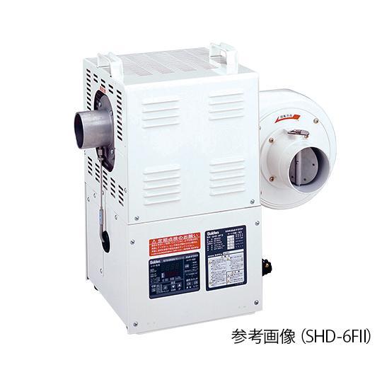熱風機(デジタル電子温度制御室) 3.7/4.3(m3/min) 300℃ 3相200V SHD−4FII スイデン aso 2-9991-03 医療・