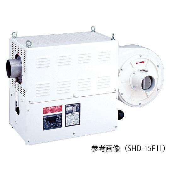 熱風機(デジタル電子温度制御室) 5.0/6.0(m3/min) 350℃ 3相200V SHD−9FII スイデン aso 2-9991-05 医療・