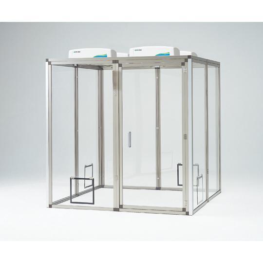 パネル製クリーンブースP5-151520 アズワン aso 3-1438-01 医療・研究用機器