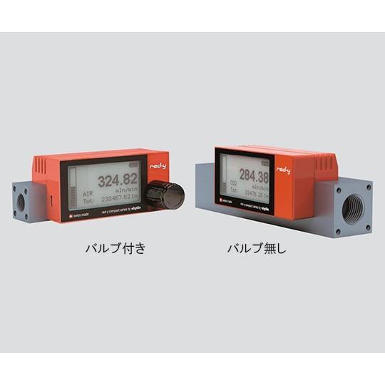 乾電池駆動式 マスフローメータ GCR-C-10L・O2(バルブ付き) 堀場エステック aso 3-5961-04 医療・研究用機器