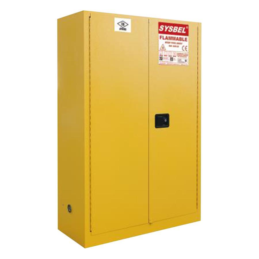 耐火キャビネット セルフクローズ式 1090×460×1650 アズワン aso 3-6605-04 医療・研究用機器