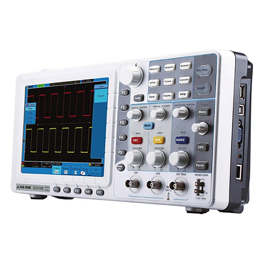 デジタルストレージオシロスコープ 100MHz その他 aso 3-6700-02 医療・研究用機器
