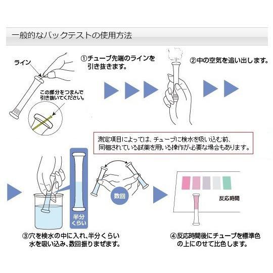 パックテスト(R)(簡易水質検査器具)COD(化学的酸素要求量) 徳用 ...