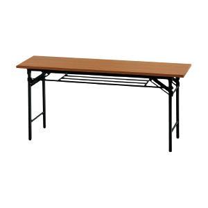 ●教育施設様限定商品 ●教育施設様限定商品 会議用テーブル1545(棚付) チーク ed 802947