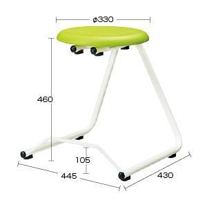 ●教育施設様限定商品 ハンギングチェアー高さ46cm グリーン ed 808186