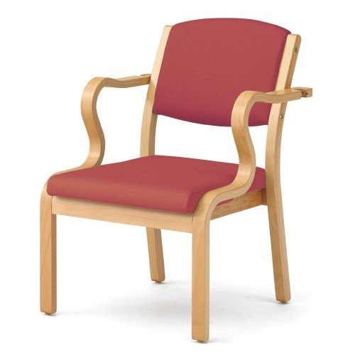 送料無料 木製椅子 木製椅子 L・S肘 SH410 DB-ULAS41 RS (jtx 39376) プラス