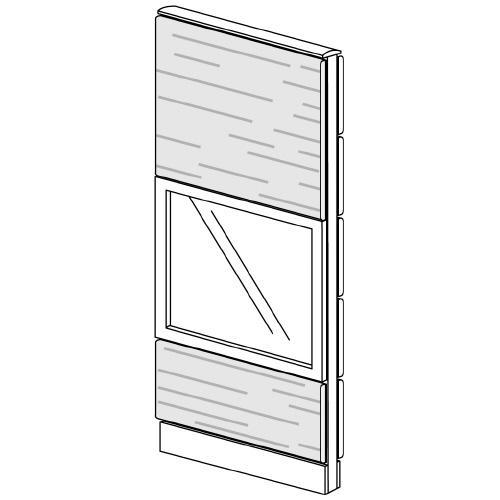 送料無料 LFパネル ガラス/木質 ガラス/木質 LF-S0616MG (jtx 626241) プラス