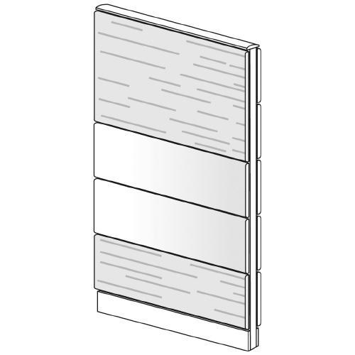 送料無料 LFパネル 塗装/木質 塗装/木質 LF-S0816MS (jtx 626267) プラス