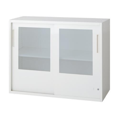 送料無料 L6 引違いガラス保管庫 L6-70G W4 (jtx 648329) プラス