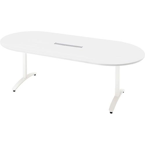 送料無料 送料無料 ロンナ 会議テーブル NN-2110TAOH W4/W4 (jtx 677407) プラス
