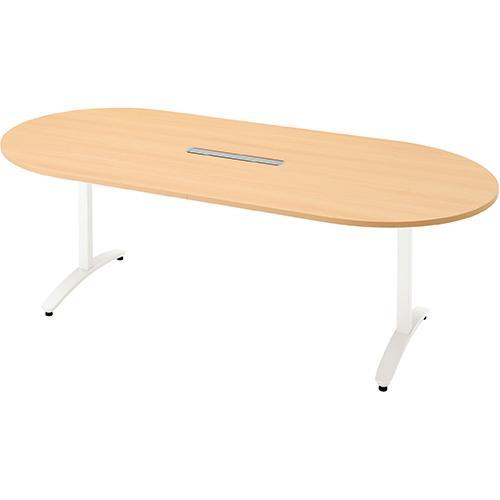 送料無料 ロンナ 会議テーブル NN-2110TAOH NN-2110TAOH WM/W4 (jtx 677408) プラス