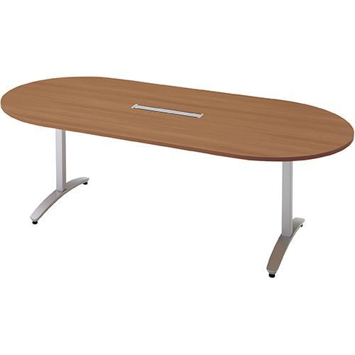 送料無料 ロンナ 会議テーブル NN-2110TAOH T2/M4 (jtx (jtx 677417) プラス